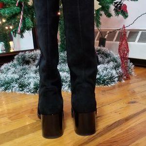 Aquatalia Shoes - Aquatalia Evelin suede boots-  like new
